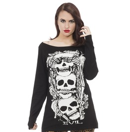 Jawbreaker Clothing Super Goth No Evil Sweater
