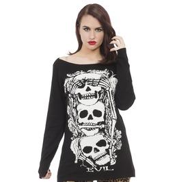 Jawbreaker Clothing Super Goth No Evil Sweater