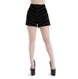 Jawbreaker Clothing Rotten Zebra Printed Shorts