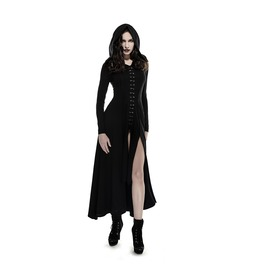 Gothic Punk Rock Steampunk Vampire Witch Hooded Coat Dress By Punk Rave
