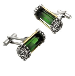 Miasmatic Reator Core Men's Steampunk Cufflinks By Alchemy Gothic