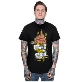 Toxico Clothing Black Eat Shit T Shirt