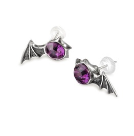 Matins Studs Ladies Gothic Earrings By Alchemy Gothic