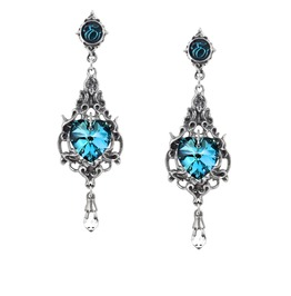 Empress Eugenie Ladies Gothic Earrings By Alchemy Gothic