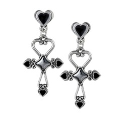 Amourankh Ladies Gothic Earrings By Alchemy Gothic