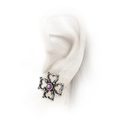 Elizabethan Cross Studs Ladies Gothic Earrings By Alchemy Gothic
