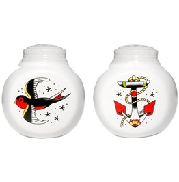Anchor And Sparrow Salt And Pepper Shaker