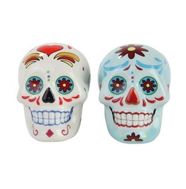 Day Of The Dead Salt & Pepper Shaker