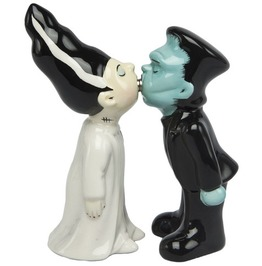 Frankie And His Bride Salt & Pepper Shakers