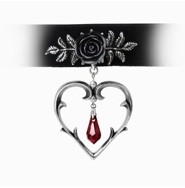 Wounded Love Ladies Gothic Choker By Alchemy Gothic