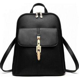 Multi Purpose Pu Leather Backpack V4
