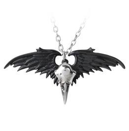 Ravenger Unisex Gothic Pendant By Alchemy Gothic
