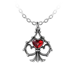 Lucky In Love Ladies Gothic Pendant By Alchemy Gothic