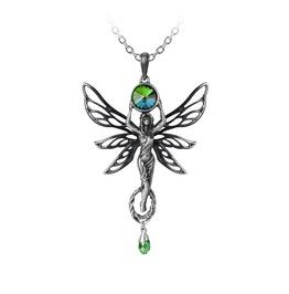 The Green Goddess Ladies Gothic Pendant By Alchemy Gothic