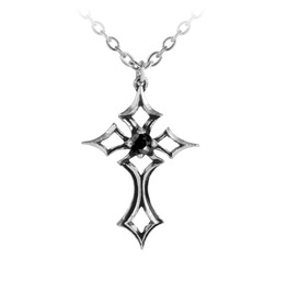 St Lorenze Kreuz Unisex Gothic Necklace By Alchemy Gothic