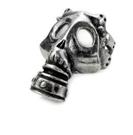 Asphyxia Men's Alternative Ring By Alchemy Gothic
