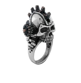 Steamhead Men's Steampunk Ring By Alchemy Gothic