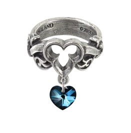The Dogaressa's Last Love Ladies Gothic Ring By Alchemy Gothic