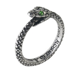 The Sophia Serpent Unisex Alterntive Ring By Alchemy Gothic