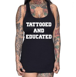 Tattooed And Educated Collegiate Racer Back
