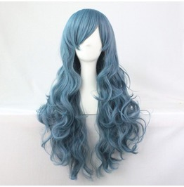 Tussled Smokey Blues Long Scene Wig