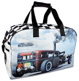 Billy Eight Rockabilly Bag Hot Rod Backpack & Shoulder Bag On Rebelsmarket