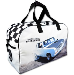 Billy Eight Rockabilly Bag Burnout 1/4 Quarter Mile Dragster Handbag 2016