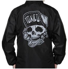 Toxico Clothing Black Suicidal Coach Jacket