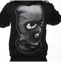 Toxico Clothing Black Balaclava Ziphood