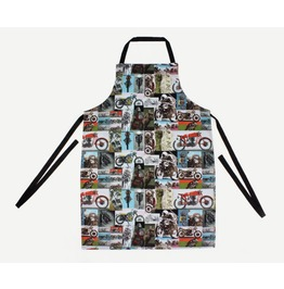 Men's Motorcycle Biker Apron