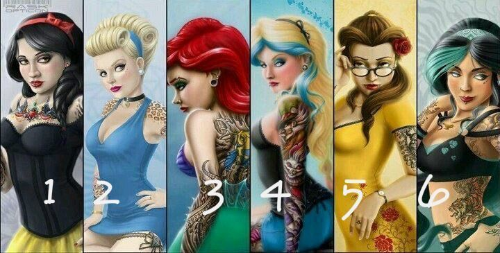 Best Disney Pixar Rebels - The Awesome Side Of Disney In Heavy Metal, Emo, Punk Rock, Goth Style