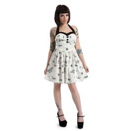 Jawbreaker Clothing Butterfly And Bug Print Halter Dress