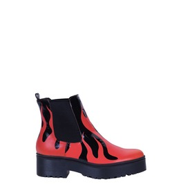 Iron Fist Shoes Fire Sign Heavy Sole Boot