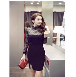 Women Pencil Skirt Plus Size Red Black Tight Bodycon Ladies