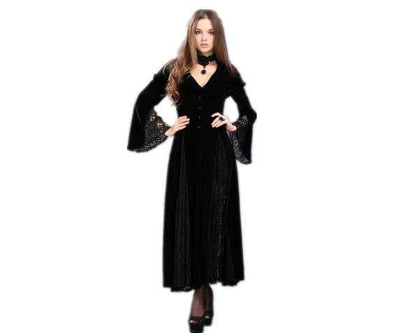 black_hooded_elf_cloak_long_gothic_fantasy_gown_jacket_9_to_ship_worldwide_jackets_5.jpg