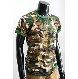 New Men Camo Camouflage Pattern T Shirt Top Tee Size M
