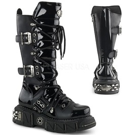 Demonia Dma 3006 Gothic Rocker Cyber Rave Industrial Apocalyptic Boots 7 13