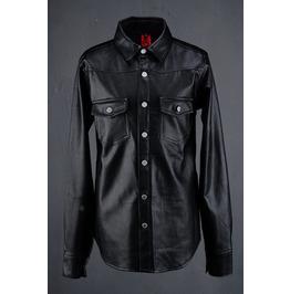 Mens Leather Western Shirts Jacket