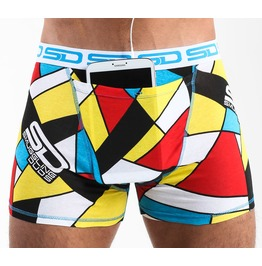 Abstract Smuggling Duds Boxer Shorts
