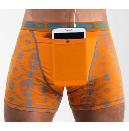 Skull Check Smuggling Duds Boxer Shorts