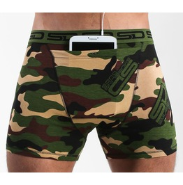 Jungle Camo Smuggling Duds Boxer Shorts