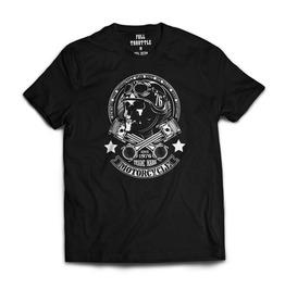 Full Throttle New York Motorcycle Club Mens T Shirt