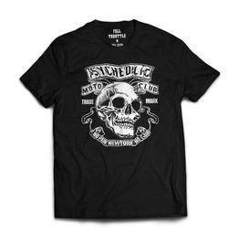 Full Throttle Psychedelic Moto Club Mens T Shirt