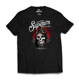 Full Throttle Superior Motors Mens T Shirt