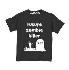 Future Zombie Killer Boys Tee