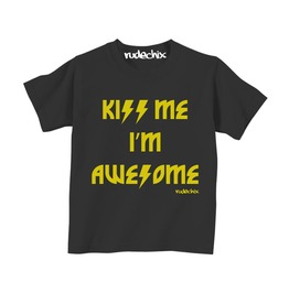 Kiss Me Im Awesome Tee