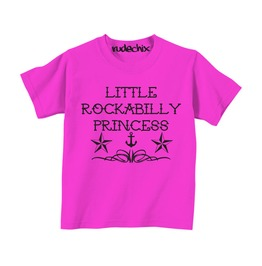 Little Rockabilly Princess Tee