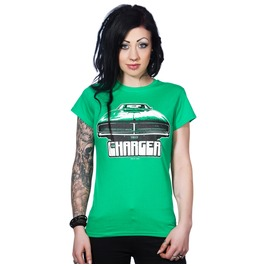 Toxico Clothing Green Charger T Shirt
