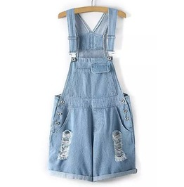 Lil Destroyed Short Overall Size L