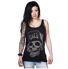 Toxico Clothing Black Suicidal Tank